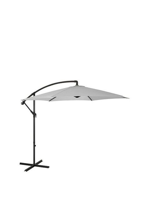 BOXED GRADE 1 3M CANTILEVER CREAM HANGING PARASOL (1 BOX)