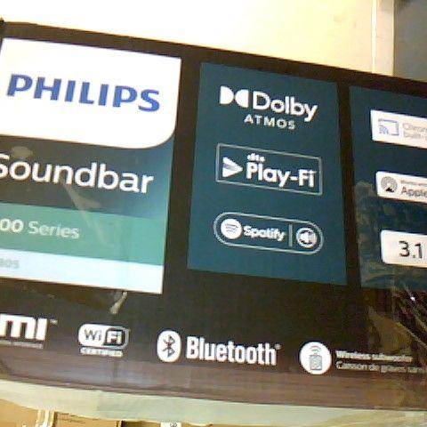 PHILIPS AUDIO B8805/10 SOUNDBAR WITH SUBWOOFER WIRELESS