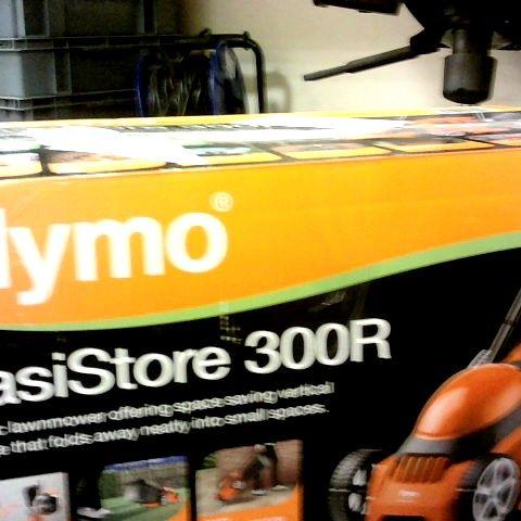 FLYMO EASISTORE 300R ELECTRIC LAWNMOWER
