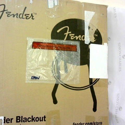 Fender 9100323506 24-Inch Blackout Barstool
