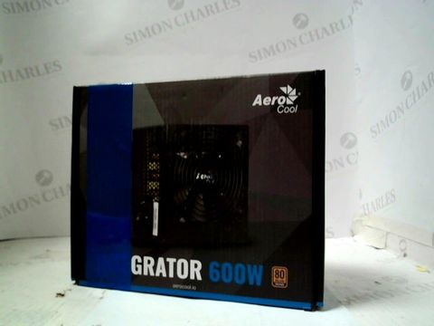 AEROCOOL INTEGRATOR 600W POWER SUPPLY