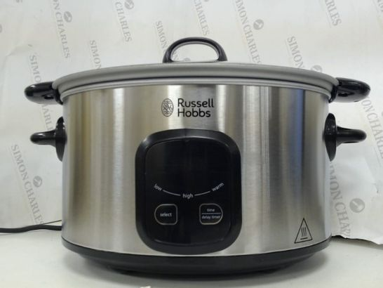 RUSSELL HOBBS MAXICOOK 6L SLOW COOKER